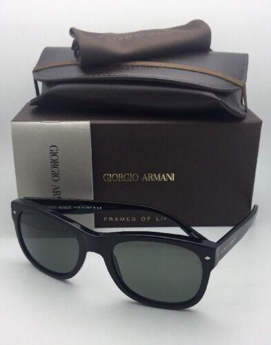 Neu Giorgio Armani Sonnenbrille Ar 8008 5017/58 54-20 Schwarz Rahmen mit Grau