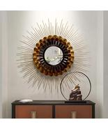 Copper and Black Multicolor Wall Mirror Decorative - $446.00