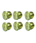 6 ORIFICE,HEX PLUG(BLANK,1/8NPT) can be drilled to size - $11.87