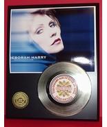 DEBORAH HARRY 24KT GOLD 45 RECORD LTD EDITION DISPLAY AWARD QUALITY SHIP... - $90.95