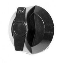 Black Plastic Burner Valve Knob Vulcan Hart 19256 719256 Comstock Castle 12-BK - $7.91