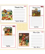 Dinosaur Train Birthday Thank You Cards 10 each Personalized Custom Made - $5.50