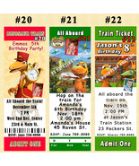 Dinosaur Train Birthday Invitation You Print Digital File 1 ea Personalized - $8.50