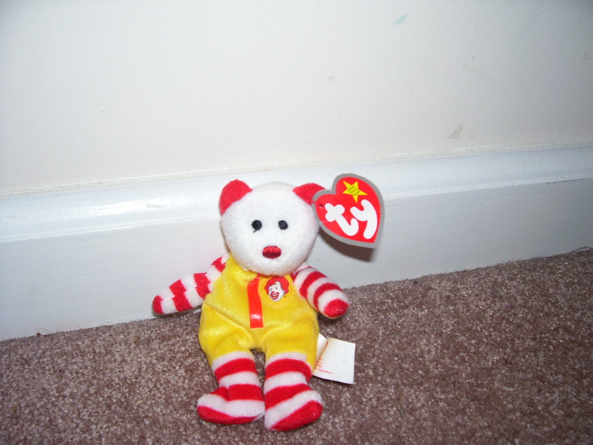 2e96c27a957 Ty Ronald Mc Donald The Bear   Teenie   and similar items