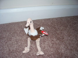 Ty Teenie Beanie Babies Stretchy The Ostrich Lot Of 2 *  From 1993 Retired - $6.96