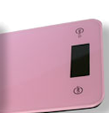 Pink Kitchen Scale ONYX-5K, .1oz-11lbs, by American Weigh - $26.99