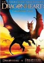 DVD - Dragonheart: 2 Legendary Tales (Dragonheart / Dragonheart: A New B... - $7.08