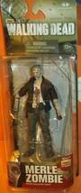 "McFarlane Walking Dead TV Series 5 ZOMBIE MERLE 5"" Figure NEW 2014  - $27.99"