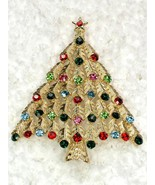 12 Pcs / one dozen of Christmas Tree pin brooch wholesale lot bulk C102017 - $39.00