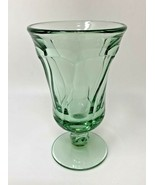 "Fostoria Jamestown Juice Goblet / Footed Tumbler GREEN 4-3/4"" Tall (7123) - $15.19"