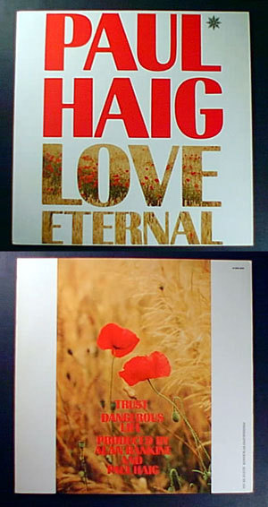 "Primary image for PAUL HAIG Love Eternal 1985 uk 12"" PS M- JOSEF K synth"