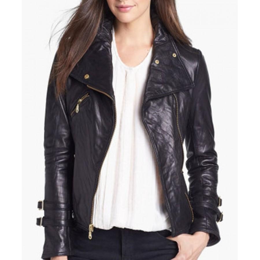 Womens black parka coats