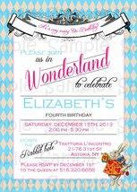Alice in wonderland kids invitation copy thumb200
