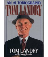 Tom Landry An Autobiography 1990 Harcover Book Cowboys - $24.74