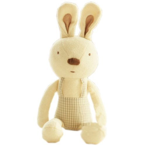 Rabbit Cute Baby Stuffed Animals Infant Toys Toddler Plush Toys with Bell
