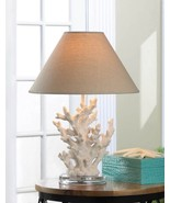 Coral Art Deco Table Lamp - $67.22