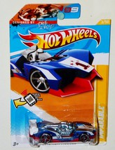 Hot Wheels 2012 New Models 3/50 Imparable Blue/Red - $2.94