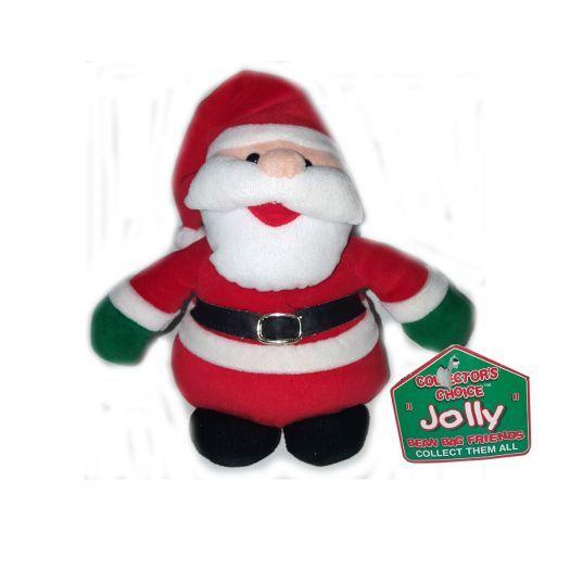 Dan Dee Collectors Choice Jolly Bean Bag Friends Santa Claus Plush 6 - $17.99