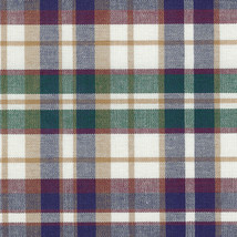 Longaberger Weekender Woven Traditions Blue Plaid Fabric Liner New In Bag - $15.79