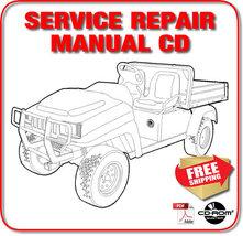 Bobcat 2100 2100S Utility Vehicle Service Repair Manual 522711758-524411001 CD - $19.98