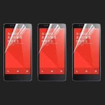 3X Clear Crystal Screen Protector Guard Shield For Xiaomi Hongmi Red Rice Note - $5.99