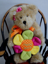 "Boyds Bears ""Posie"" #95409IWG""- 8"" Plush Bear- NWT- 2005-  Retired - $16.99"