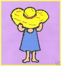 Country Girl Crochet Graph Afghan Pattern - $5.00