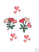 Heart Flowers Crochet Graph Afghan Pattern - $5.00