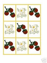 Strawberries/Daisies Crochet Graph Afghan Pattern - $4.00