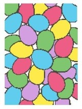 Bunches of Eggs Color Graph Pattern - $5.00