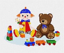 pepita Playroom Needlepoint Canvas - $74.00