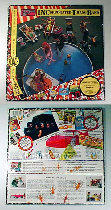 Primary image for funk INCORPORATED THANG BAND * SEALED * LP FUNKADELIC 1987 WB Bootsy Collins