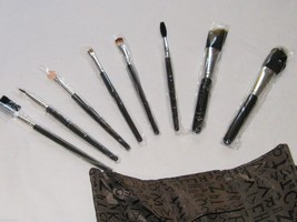 JOJO Professional 8-Piece Cosmetic Travel Brush Set with Case - €34,01 EUR