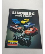 VTG 1993 Lindberg Catalog plastic Model Kits 31 color pages (A16) - $14.85