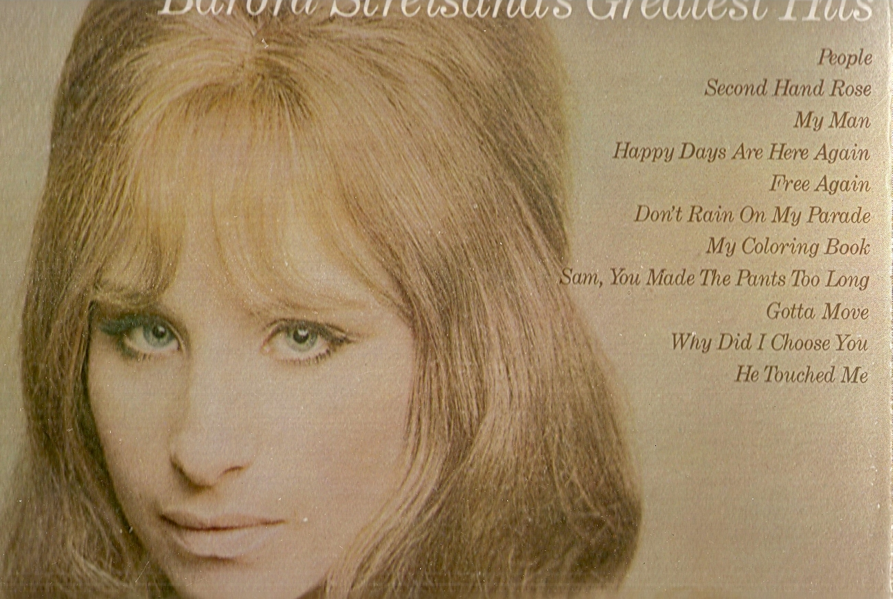 LP--Barbra Streisand 	-	 Greatest Hits