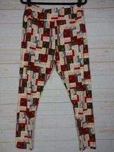 LuLaRoe TC2 Leggings - Santa & Mrs Claus - Christmas - Holiday NWT - A2617 image 1