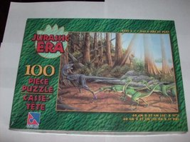 Jurassic Era 100 Piece Puzzle with Velosa Raptors by Sure-Lox - $25.47