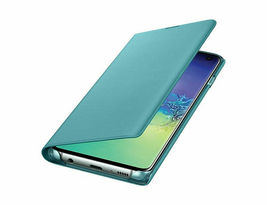 Genuine Samsung Galaxy S10 LED View(Wallet) Cover Case / EF-NG973 3_Colors image 12