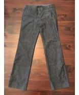 The GAP Dark Denim TROUSER JEANS Straight Leg Stretch Women's Size 6 long 30x32 - $14.00