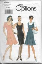 Vogue 8991 Women Misses Dresses, Classy to Elegant Styles Sizes 12 14 16... - $22.00