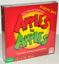 Apples to Apples Party Box Card Game Comparison Combinations Family Fun ... - $9.74