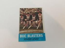 1963 Topps Buc Blaster #18 Roberto Clemente Burgess/Stuart/Skinner EX No Creases - $19.34