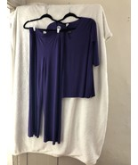 IMAN MEDIUM PANT SUIT Purple very pretty New with out tags - $19.79