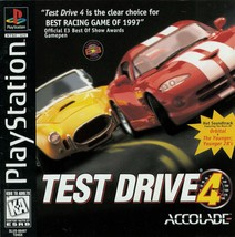 Test Drive 4 Playstation PS1  Complete CIB - $7.75