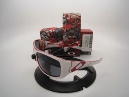 Rare! New Oakley Devil's Brigade Sideways Polished White w/Grey Polarized 24-168 - $539.00