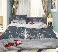 3D Christmas  Xmas 36 Bed Pillowcases Quilt Duvet Cover Set Single Queen King AU - $64.32+