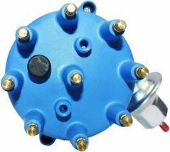 55-57 Ford Thunderbird Y-Block 272 292 Pro Series R2R Distributor Male Blue Cap image 4