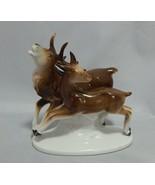 German Porcelain Figurine Elk 3770  - $19.80