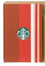 Journal Book Stripe Starbucks Limited Edition Notebook New - $29.13