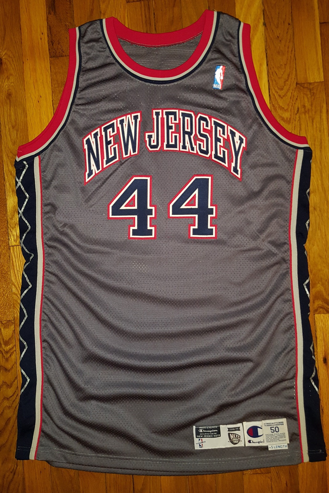 07e60b170 1998-99 New Jersey Nets Keith Van Horn Game and 50 similar items